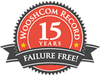 Wooshcom acheives record: over 15 years without a failure!